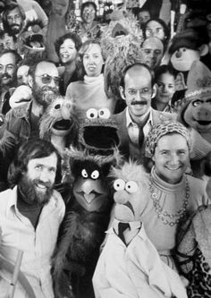 Jim Henson and The Muppets crew.  Such a creative genius...gone much too soon.