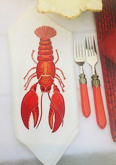 lobster napkin #JoesCrabShack