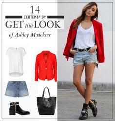 Get the look: Το μοντέρνο casual look της Ashley Madekwe