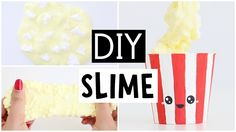 DIY MINI POPCORN SLIME! - YouTube