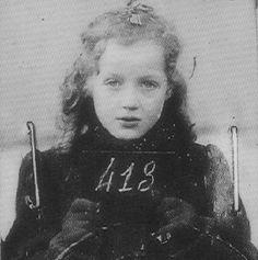 Little Jewish Girl Sentenced to Auschwitz • 1942