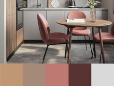 Warm Gray Paint, Warm Grey, Dining Chairs, Projects To Try, Kitchen, Furniture, Home Decor, R Color Palette, Cooking