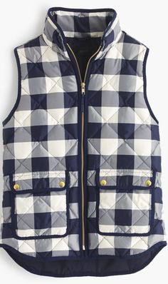 BUFFALO CHECK VEST // J.CREW 40% OFF TODAY