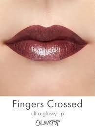 colourpop ultra glossy lip FINGERS CROSSED - Google Search