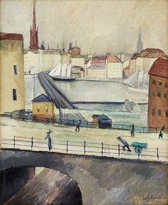 LeanderEngström Stockholmsmotiv 1912