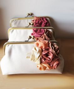 Clutches For Bridesmaids | Recycled Bride