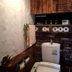 Bathroom/DIY/マスキングテープ/ナチュラルキッチン/mt CASA/壁紙屋本舗...などのインテリア実例 - 2016-04-04 02:06:36 | RoomClip (ルームクリップ)