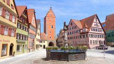 Top 10 Fairy-Tale Towns in Germany | Dinkelsbühl, Bavaria