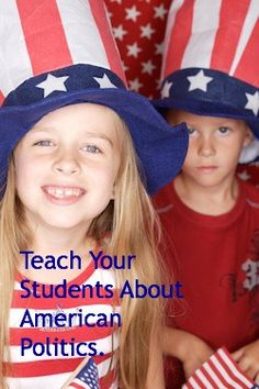 Teach Your Students About Politics. #weareteachers