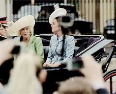 Camilla and Catherine's Trooping the Colour Adventures.