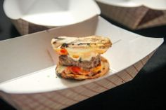 Luzzo's Group at SOBEWFF in Miami   Feb 20/23 2014   Burger Bash and Best of The Munchies – Neapolitan Pizza Burger