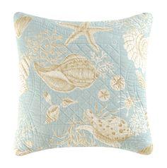 Natural Shells Reversible Throw Pillow
