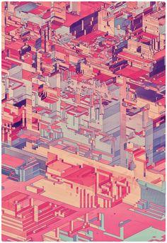 PIXEL CITY on Behance