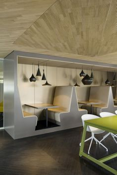 Inside Drees & Sommers Decentralized Stuttgart Offices  #office: office space, office design, office interiors
