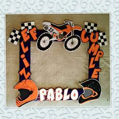 Marco para selfies Moto KTM Falon Porras Motocross Birthday Party, Motorcycle Birthday Parties, Dirt Bike Party, Dirt Bike Birthday, Motorcycle Party, Hot Wheels Birthday, 10th Birthday Parties, Birthday Party Themes, Baby Shower Parties