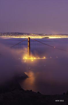 Golden Gate Bridge, San Francisco, byAlbert Wong, on 500px.