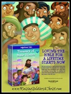 Treasury of Bible Stories {Review AND GIVEAWAY!} - Raising Soldiers 4 Christ #Biblestudy #kids #Bible