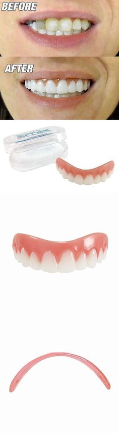 Other Oral Care: Snap On Teeth Cosmetic Secure Smile Instant Veneers Dental False Natural Small BUY IT NOW ONLY: $30.77