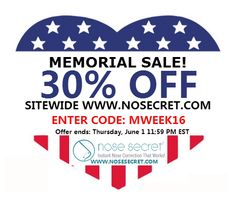 Nosesecret a non surgical nose job without surgery or needles and made in the USA! Memorial Sale! 30% OFF sitewide at www.nosesecret.com and FREE shipping on ALL U.S. orders! #Nose secret #Nose up # Noselifter #Nosesecreter #Nosesecret 3D #3D #3D Nosesecret #Nose shaping #Nose clip #Beauty #sale #Nose #contour
