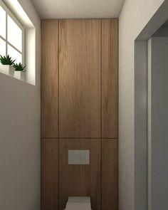 Pastoriestijl wc hout
