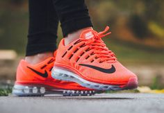 Nike Air Max 2016 GS Bright Crimson pas cher
