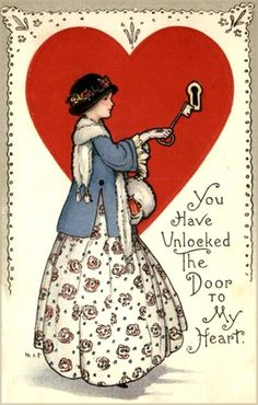 Vintage Valentine's - Google Search