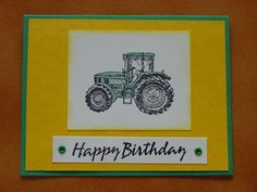 Tractor Time Birthday