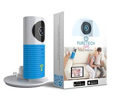 Puretech BabyTM Video Baby Monitor Camera Compatible With iPhone & Android. Baby Blue - $69.99