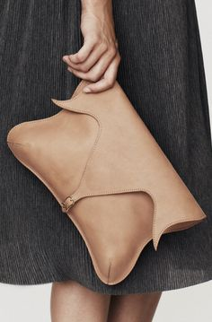 ANU - Tulip shaped clutch