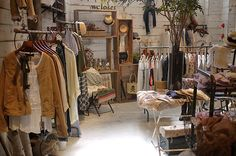 """w closet Jingumae shop"" is a flag shop of the brand W Closet."