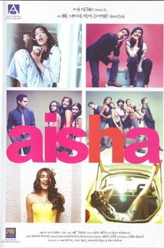 Aisha with Sonam Kapoor: fun movie!