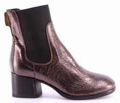 Women's Shoes Ankle Boots MOMA 94505-7B Old Boy New Car Vintage Made Italy New
