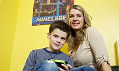 Me, my son and Minecraft