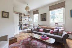 Casinha colorida: Em Londres, todos os estilos em uma só casa