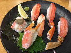 crab sushi I had in Sushi-Ro (1000 yen) #sushi #food #foodporn #japanese #Japan #dinner #sashimi #yummy #foodie #lunch #yum