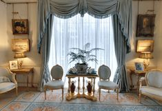 Inside Clarence House: Prince Charles' Home. Opulent interiors in The Morning Room