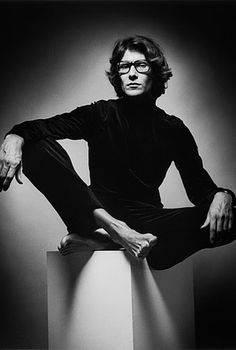 Yves Saint-Laurent by Jeanloup Sieff,  1969, The Estate of Jeanloup Sieff.