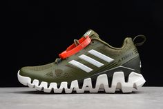 Purchase High Quality Replicas adidas Terrex Olive/White For Mens and Womens Sneakers from PerfectKicks at Low Cost. Adidas Models, Adidas Men, New Adidas Shoes, Adidas Sneakers, Black N Yellow, Black And Grey, Jordan 13 Black, White Shoes, Air Jordans