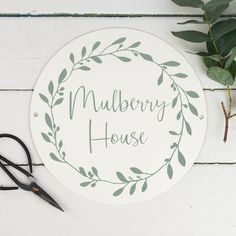 Are you interested in our personalised house name plaque? With our personalised house name sign you need look no further.