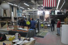 #BehindTheScenes on our recent @Fendi display build for their Madison Avenue Store! #fabrication by @CreativeNy