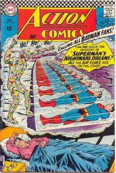 Batman - Superman - Nightmare - Dream - Sleep - Curt Swan