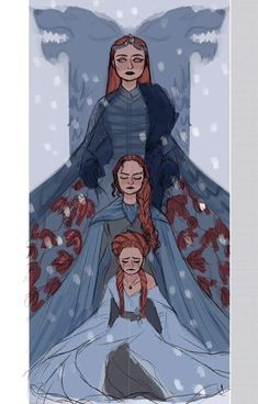 Find images and videos about game of thrones, got and sansa stark on We Heart It - the app to get lost in what you love. Dessin Game Of Thrones, Arte Game Of Thrones, Game Of Thrones Funny, Game Of Thrones Drawings, Game Thrones, Sansa Stark, Character Inspiration, Character Art, Character Design