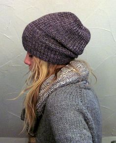 Essential: a slouchy beanie. I live in Wisconsin so I go for warmth and style.