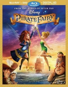 Disney The Pirate Fairy~ Blu-ray + DVD+ Digital HD (Children& Family) Fantasy