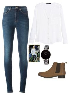 """NH."" by saracorrine on Polyvore featuring Acne Studios, MANGO, Topshop, Skagen, GetTheLook, OneDirection, Inspired and NiallHoran"