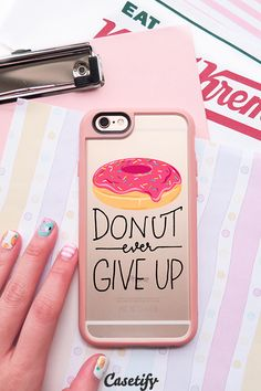 Click through to see more iPhone 6 case designs by @samantharanlet >>> https://www.casetify.com/bysamantha/collection #donuts | @casetify