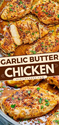 A stovetop chicken recipe in 15 minutes! So tender and juicy with a rich flavor, this skillet garlic butter chicken breast is sure to become a favorite. Serve this easy main dish with rice or salad for a winning dinner idea! Easy Roasted Chicken Recipe, Chicken Skillet Recipes, Whole Roasted Chicken, Garlic Butter Chicken, Chicken Meals, Keto Chicken, Easy Main Dish Recipes, Simple Recipes, Stove Top Recipes