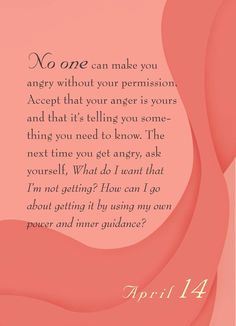 Anger management is important on many levels.....    ~Dr. Christiane Northrup