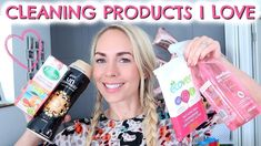 CLEANING PRODUCTS I LOVE  |  CLEANING PRODUCTS HAUL UK  |  EMILY NORRIS - YouTube