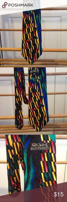 "Bold Bright Rush Limbaugh Men's Necktie Men's necktie by Rush Limbaugh collection. In great condition. Bold and bright. 59"" long. Silk. Made in the USA. Rush Limbaugh  Accessories Ties"